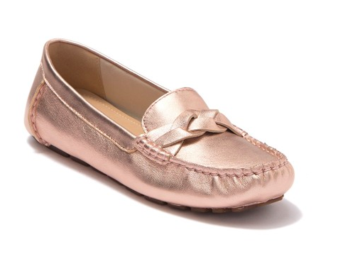 Sperry Metallic Loafer : A metallic sheen will add that little extra something to your Look. If you're not big on jewelry, a metallic shoe is a great way to get a little sheen in your ensemble.