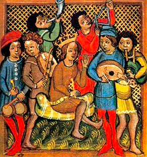 Provencal troubadors in the 14th century