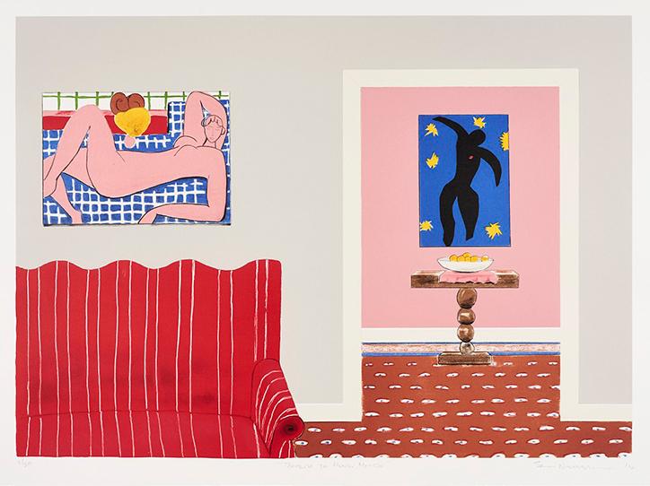 Tribute to Henri Matisse