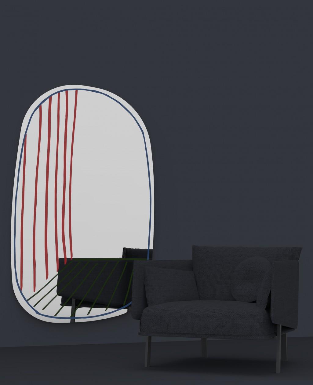 New Perspective Collection de miroirs / Des ouvertures sur un monde surréaliste par  Bonaldo  (2016).