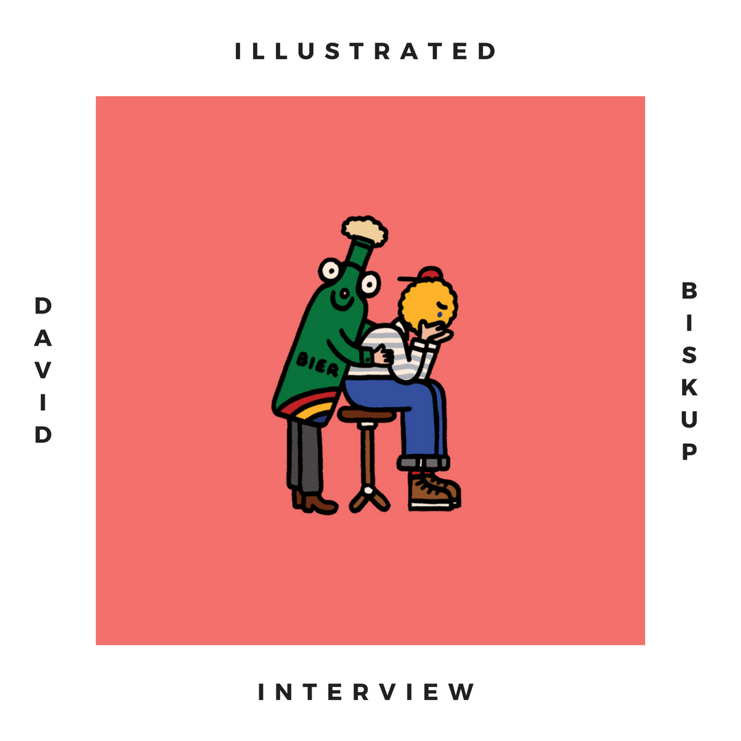 Illustrated interview : David Biskup    Funny and melancholic, David Biskup's drawings are treasures to love and share.