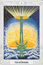 Ace of Swords - This is the year for setting intentions and locking onto the vision you see for yourself in your heart. Living your most authentic life, following your desires, and dreaming big. The importance of your intention.