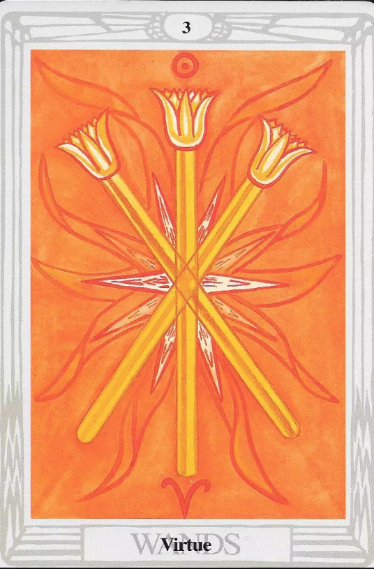 Three of Wands - Energy of alignment and ascension. This will be a year to trust yourself and have faith in your vision. It's time to bring your desire/work forward. Now is your time to serve the world.