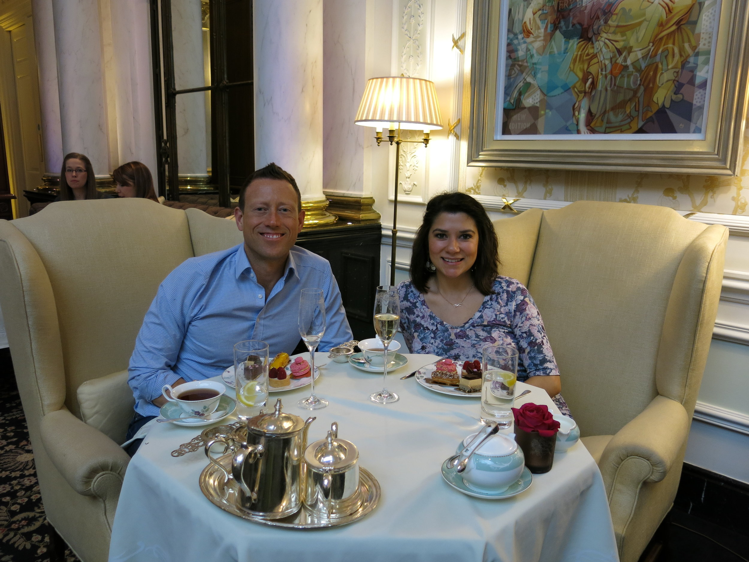 Afternoon Tea at the Savoy in London