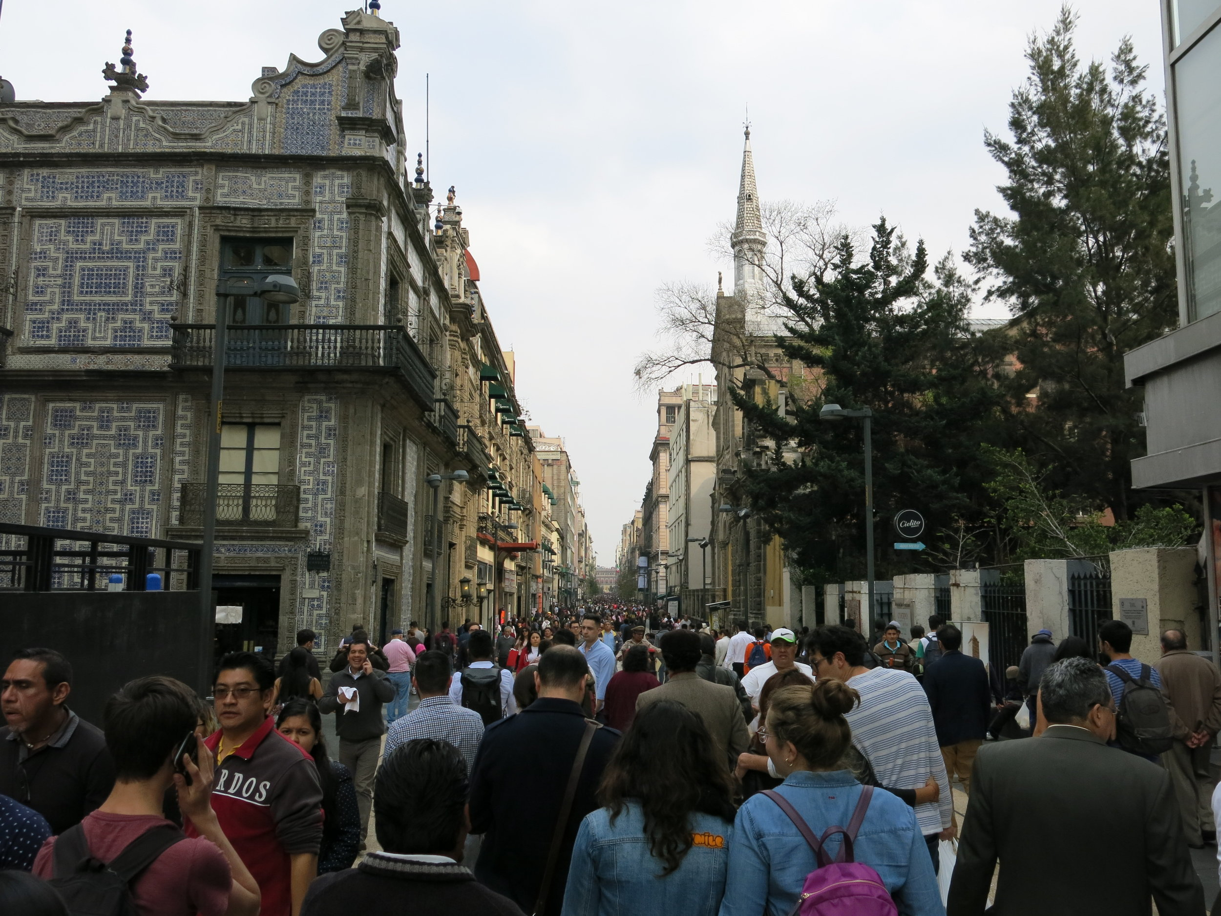 Centro Historico Neighborhood in Mexico City