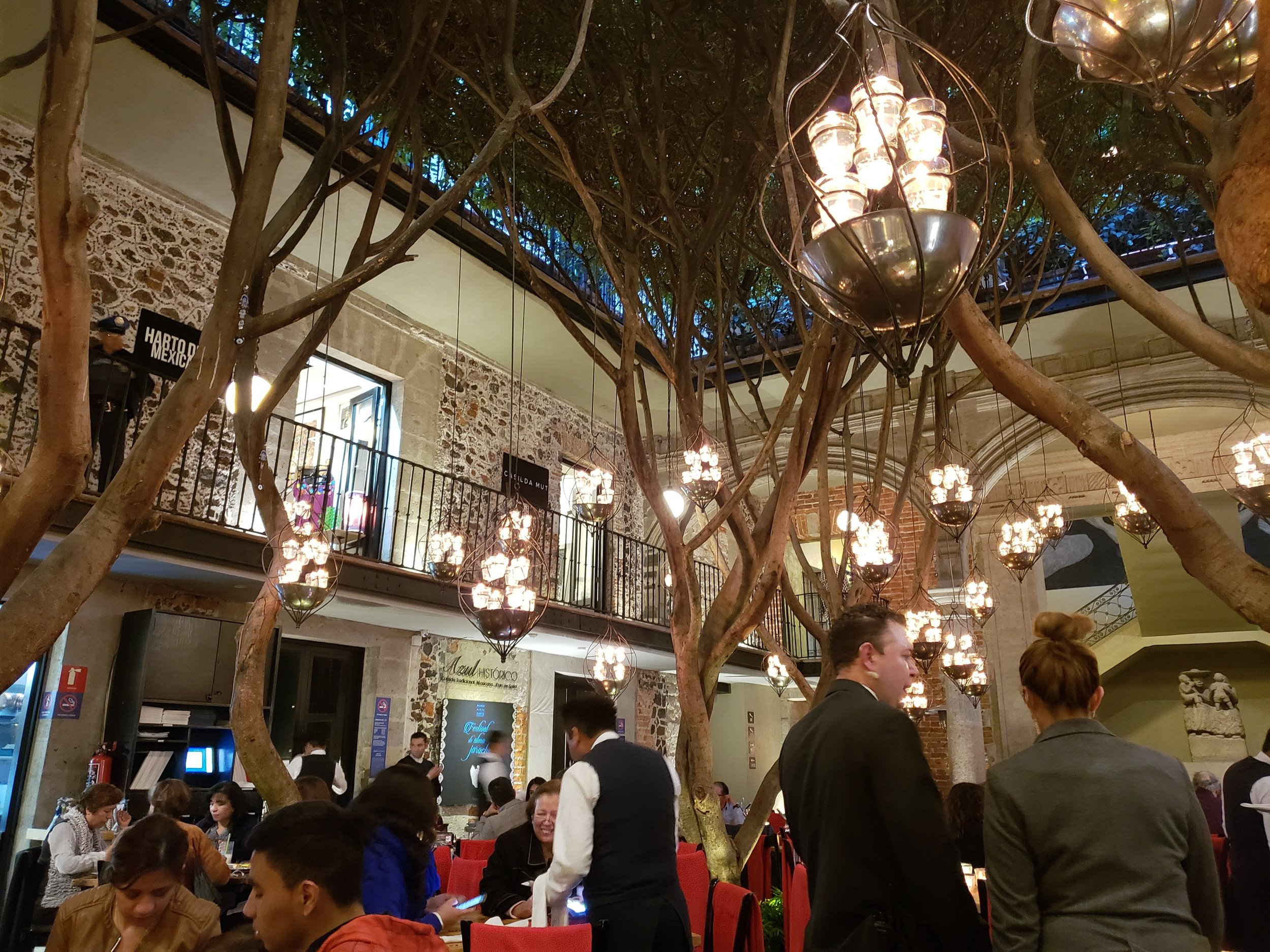 Azul Historico Restaurant Mexico City