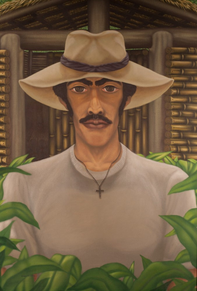 Armando Campos    Campesino , 1994  Acrílico