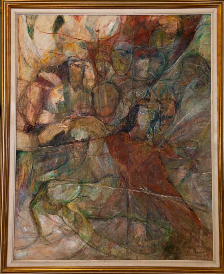 Rosa Mena Valenzuela    Hamlet , 1993  Técnica mixta