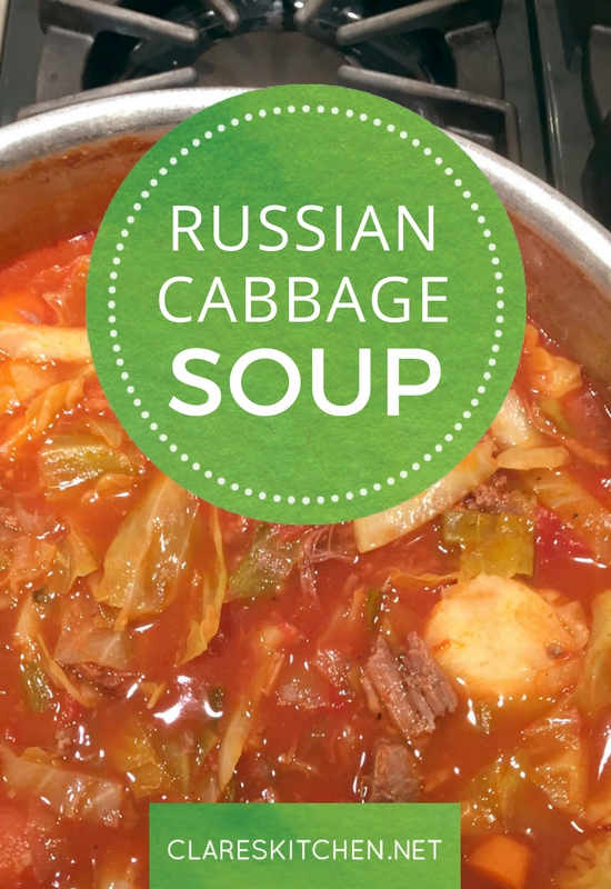 Russian Cabbage Soup