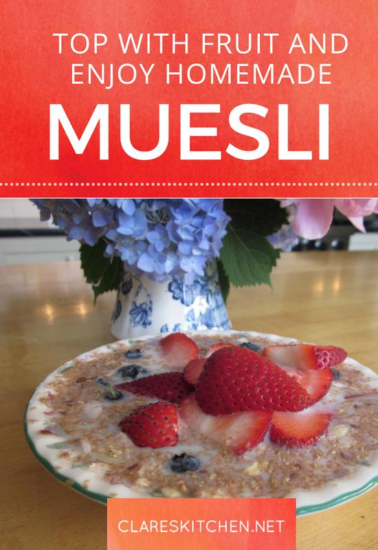 Clare's Muesli