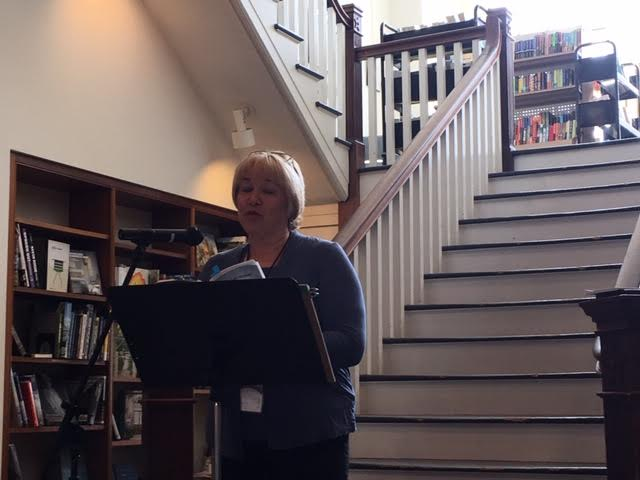 Kristen Staby Rembold reading at Virginia Festival of the Book, March 20, 2019