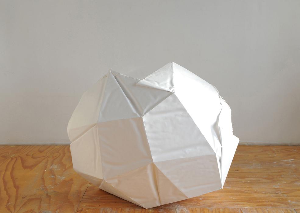 2012  Hydrocal, fiberglass, paper, quartz  32 x 36 x 24 inches
