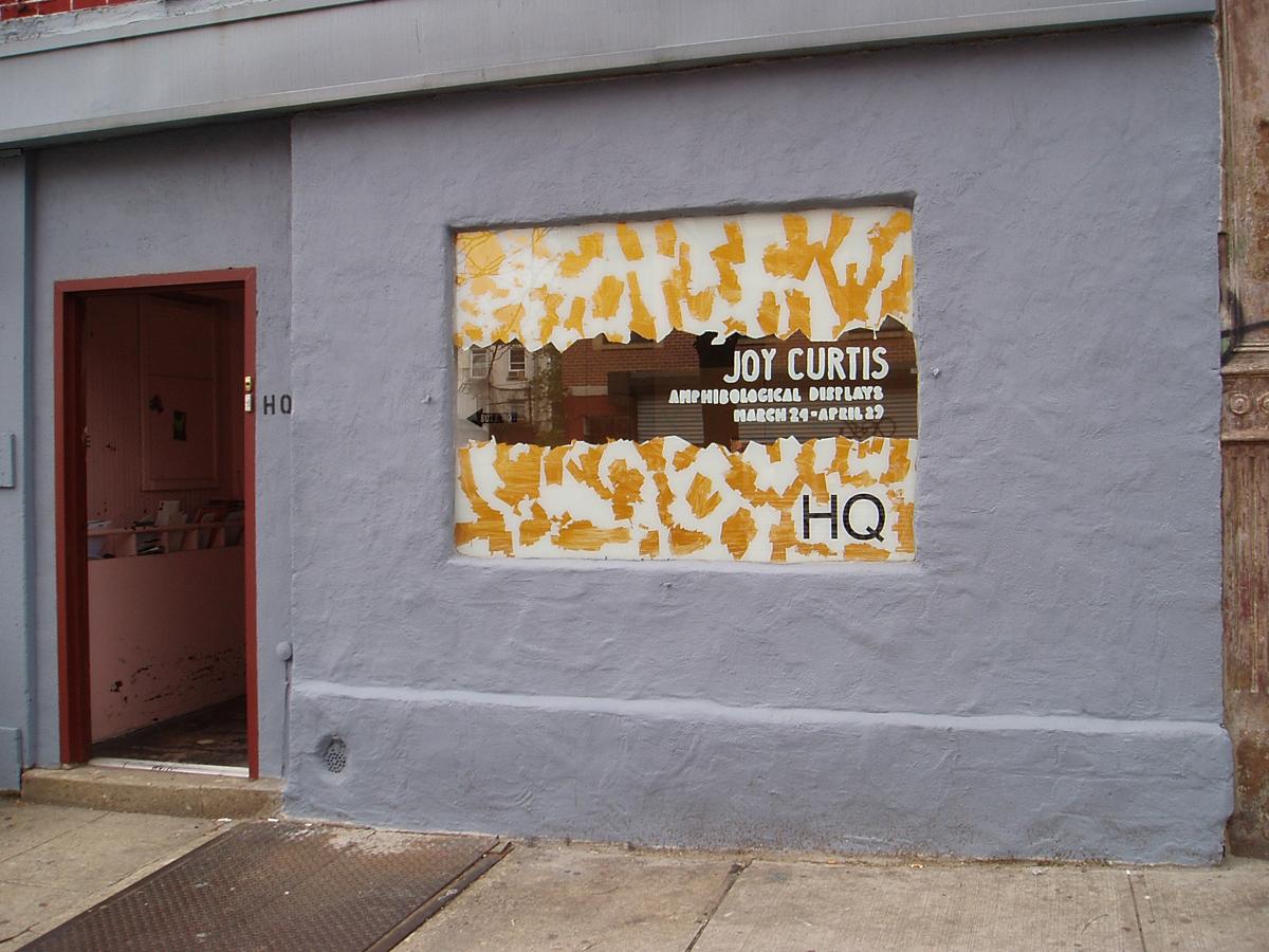 Joy Curtis at HQ