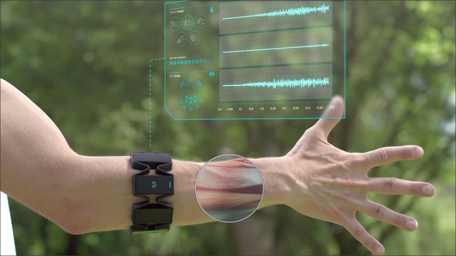 MYO Gesture controller