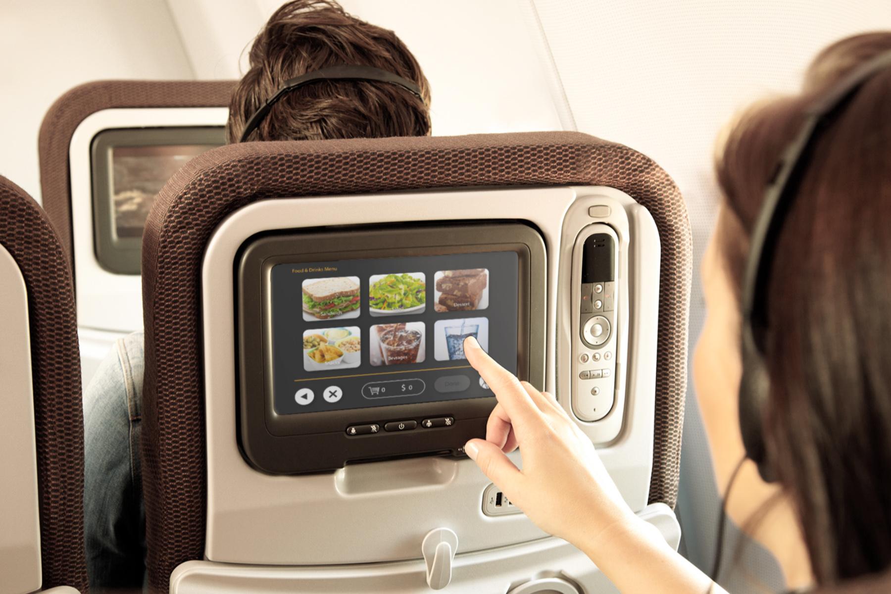 Random Airlines - Ordering food in-flight
