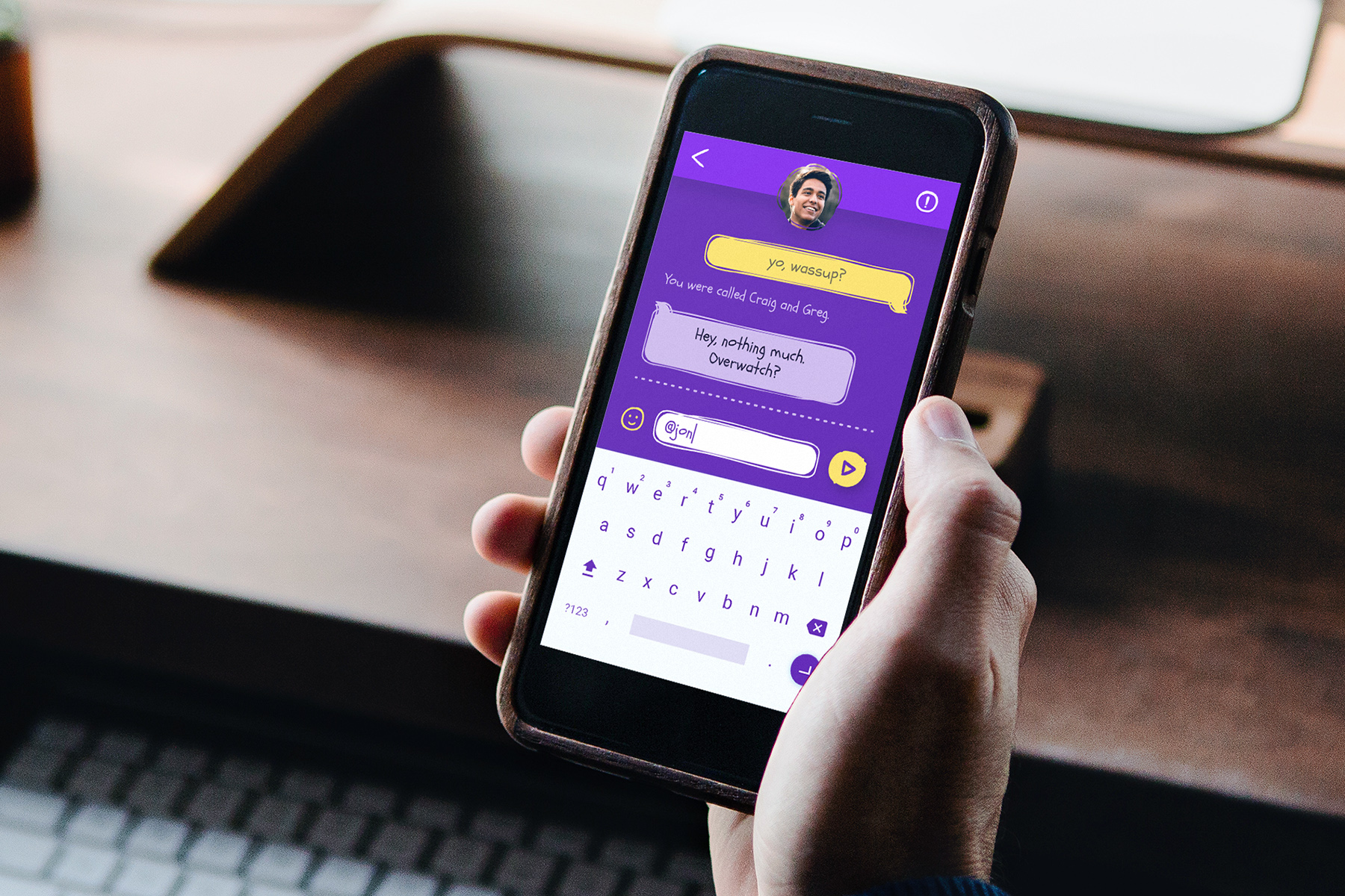 What's My Name? - Uncomfortable messaging app