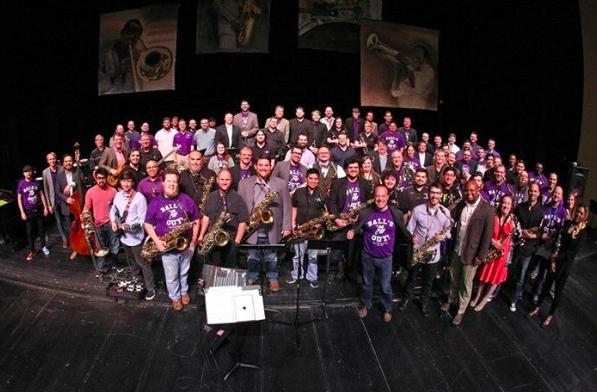 Tarleton State University  Jazz Alumni -- photos by Kurt Mogonye