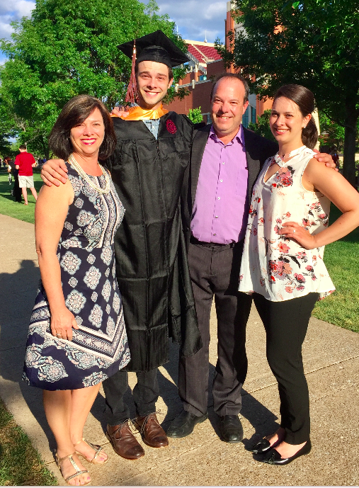 2017 Graduate of the  University of Oklahoma!