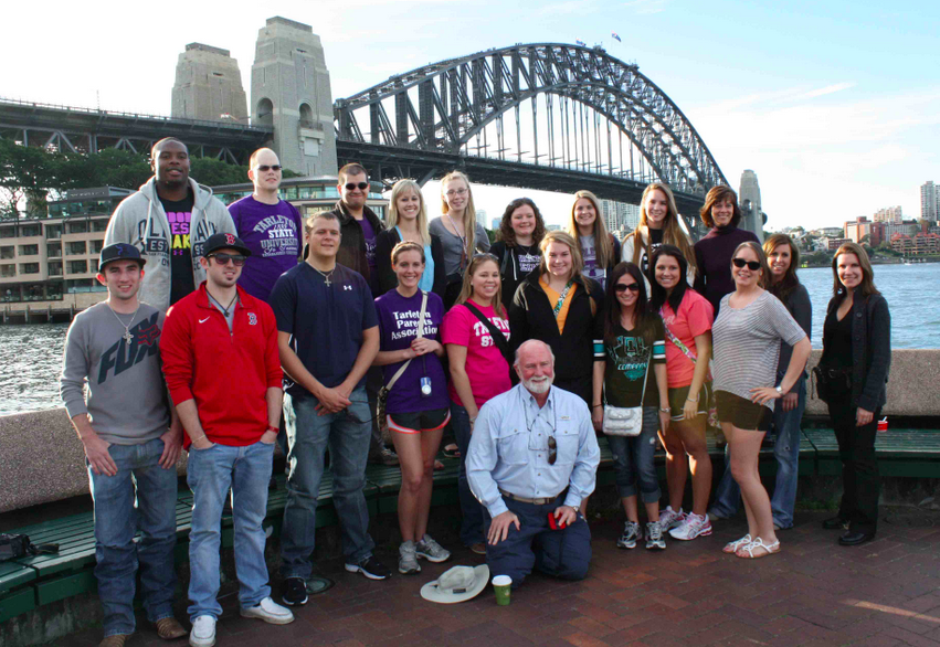 Tarleton State University's   College of Business  Study Abroad to Australia in 2012
