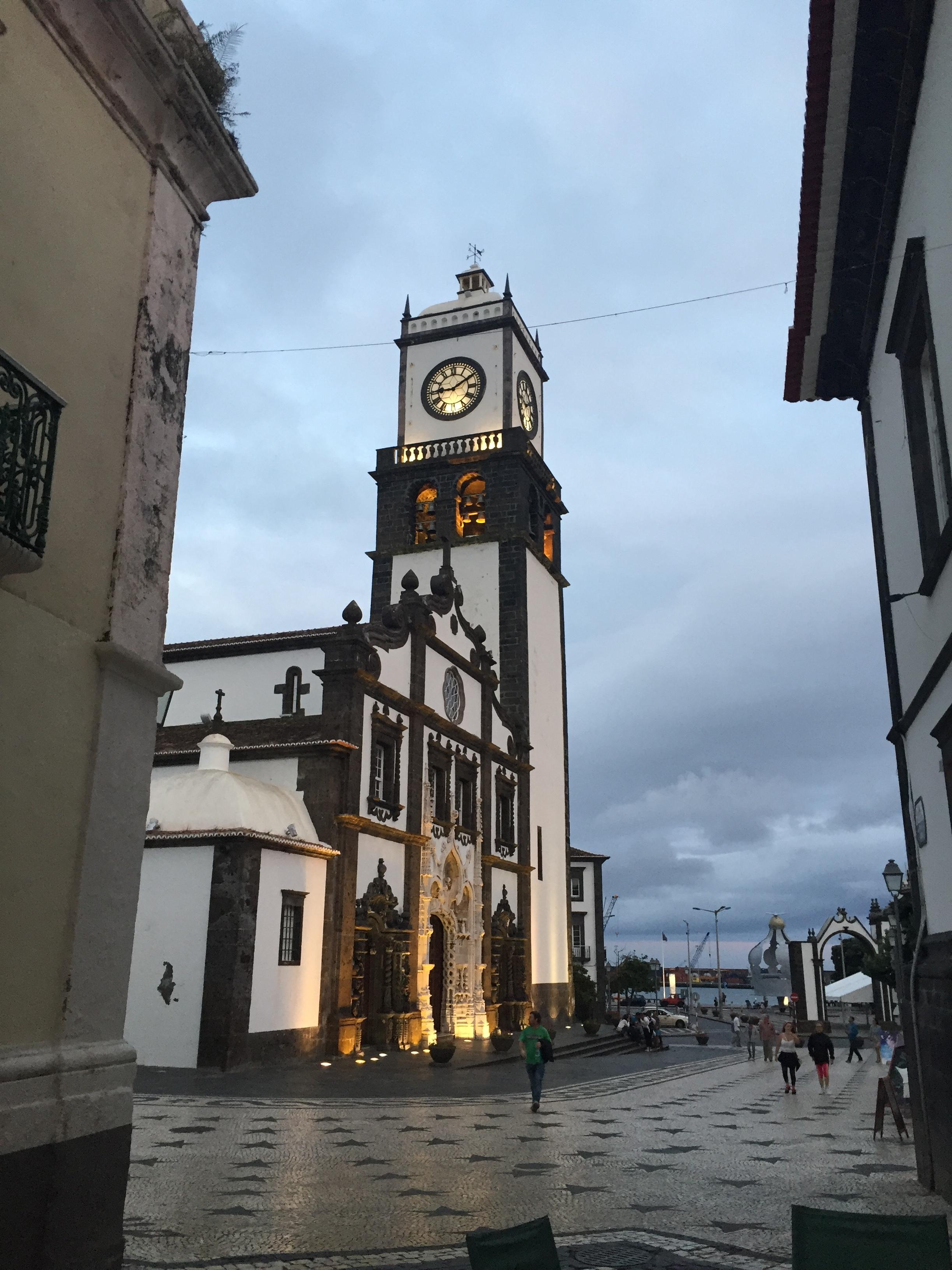 Church of San Sebastian in Ponta Delgada