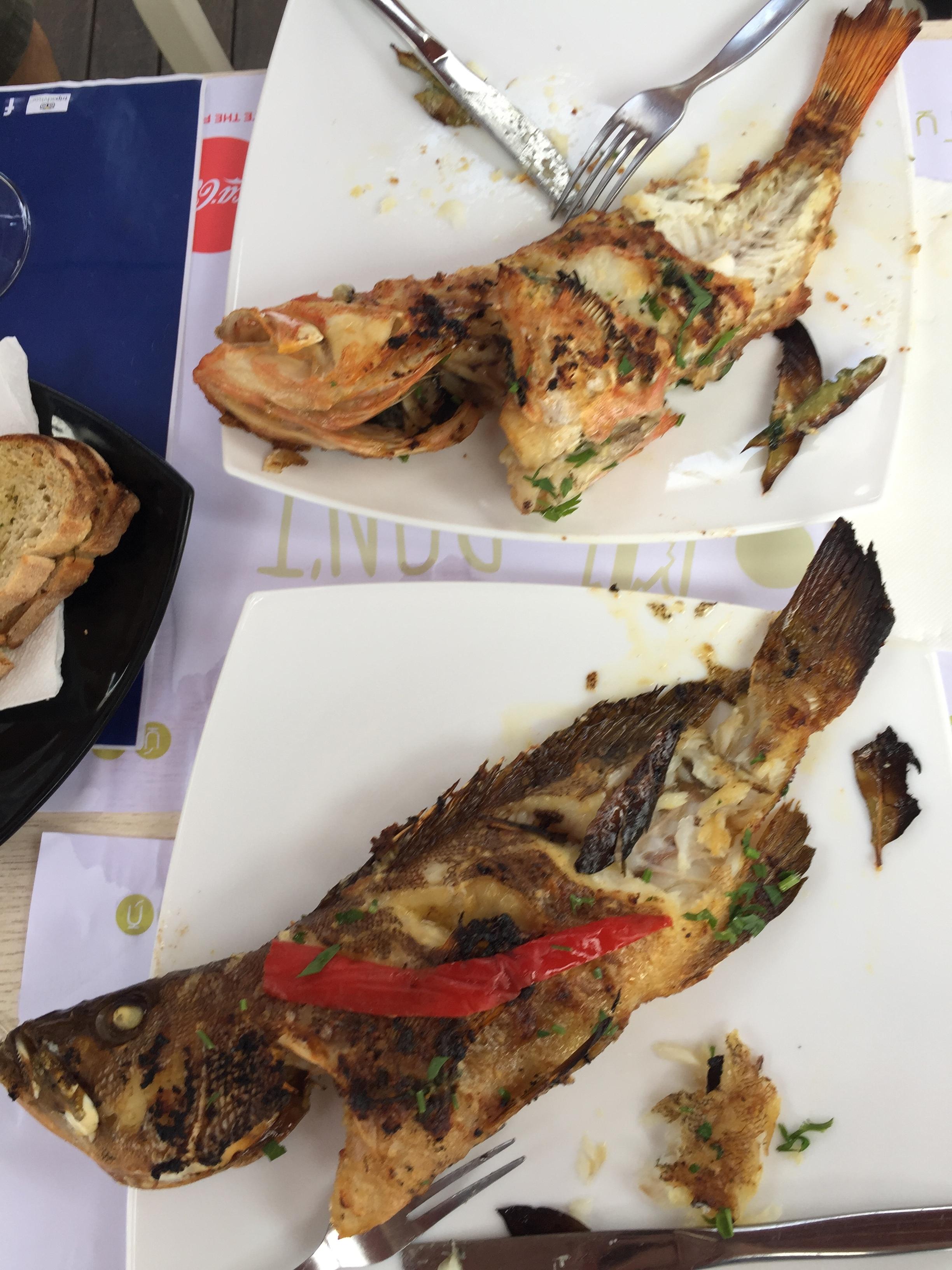 Whole Fish at Tuka Tula Before...