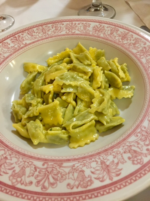 Agnolotti, the typical Piemonte ravioli