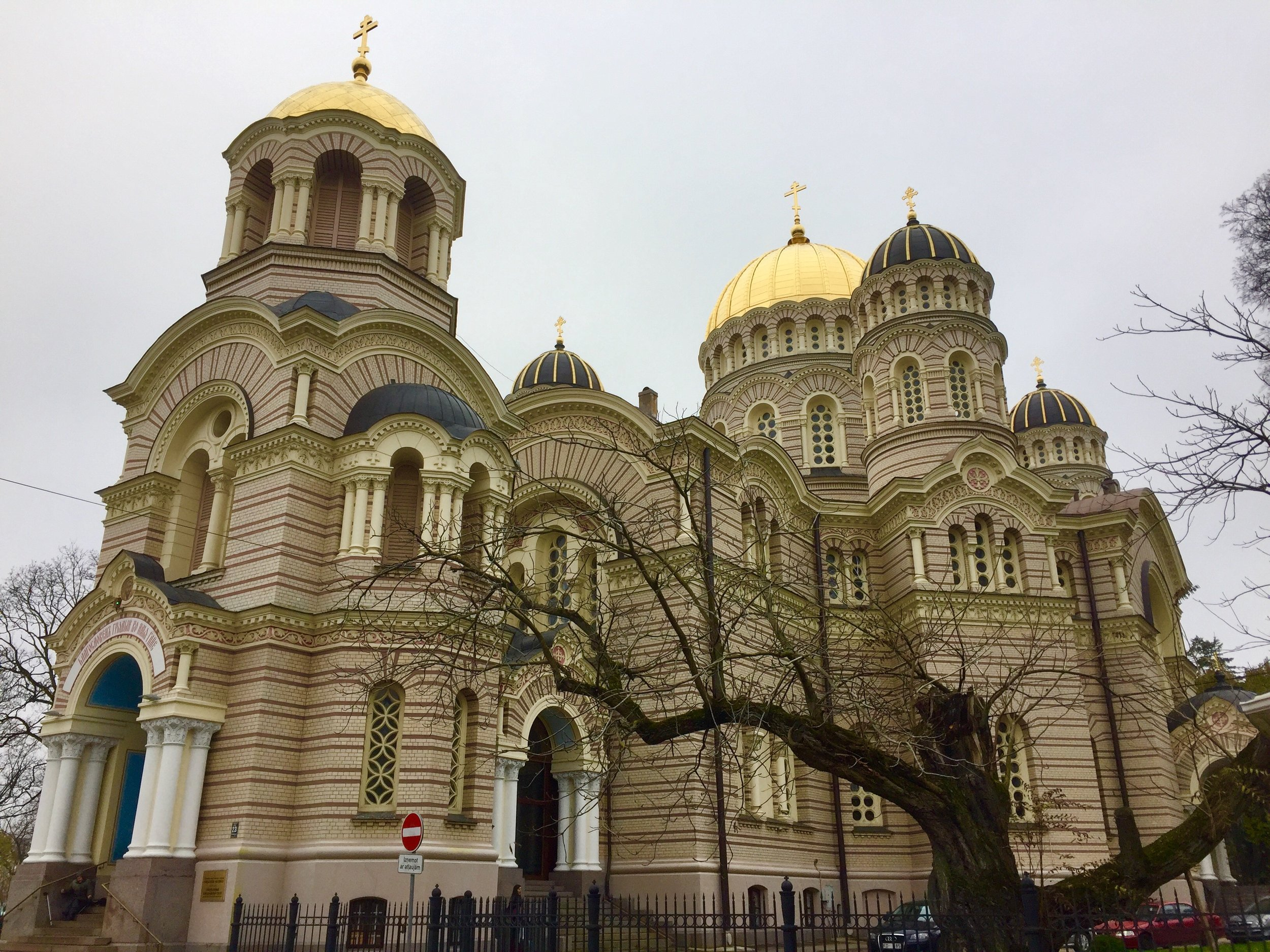 The Nativity Orthodox Cathedral - Riga, Latvia