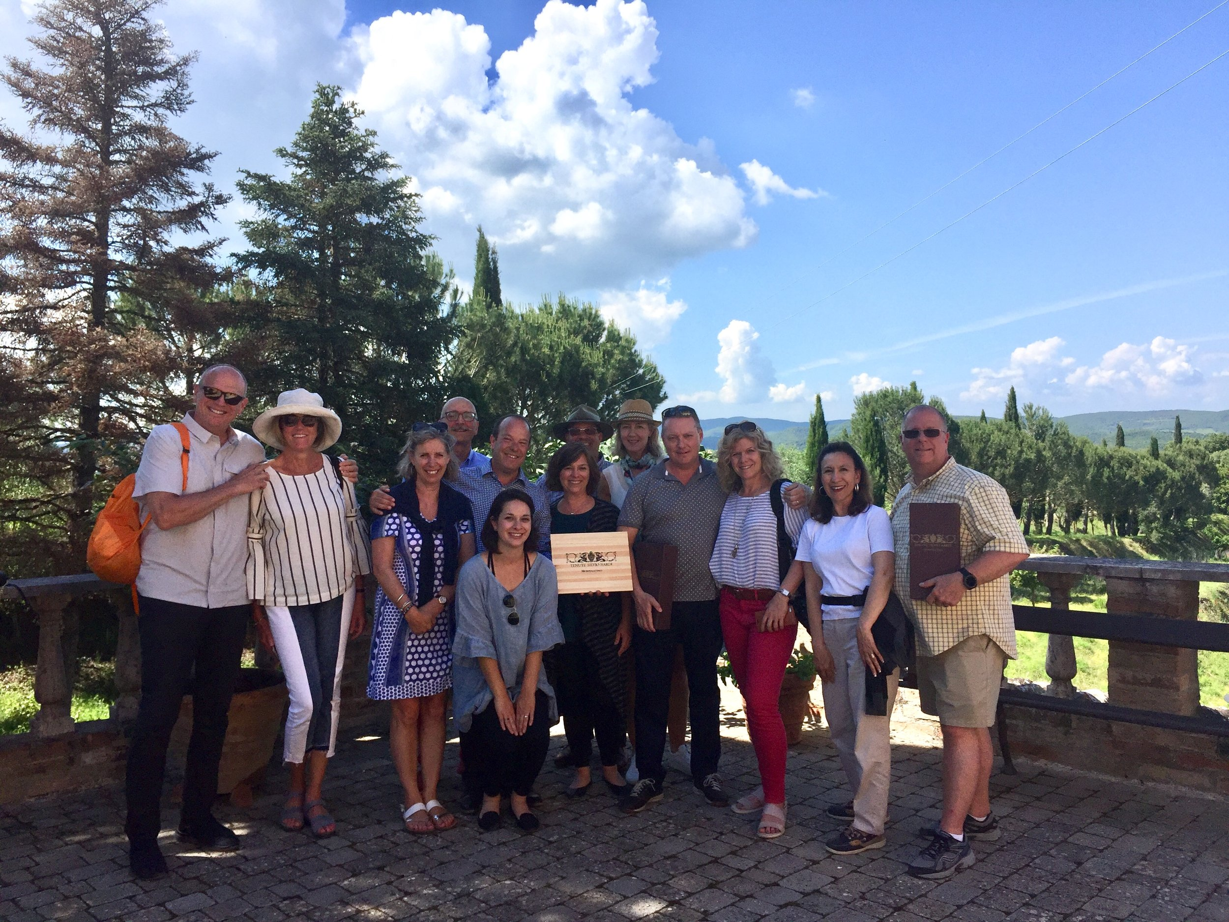 ETC Small Group Tour of Tuscany May 2018