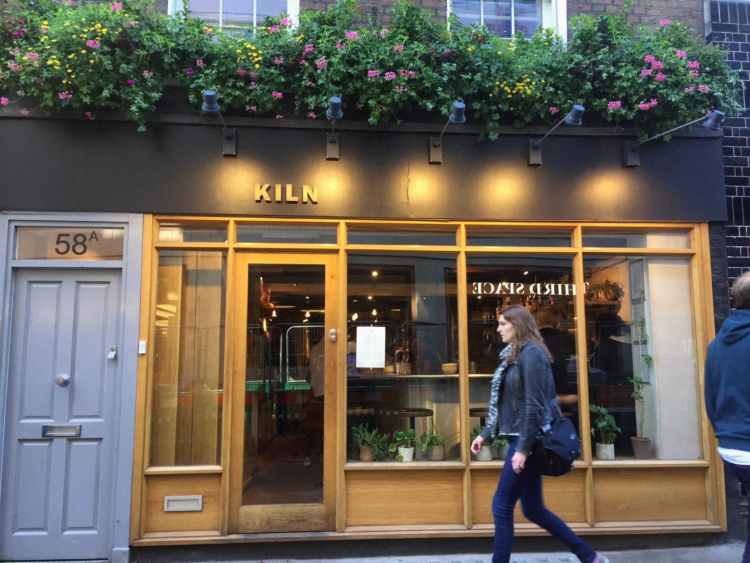 The excellent Kiln restaurant in London's Soho neighborhood