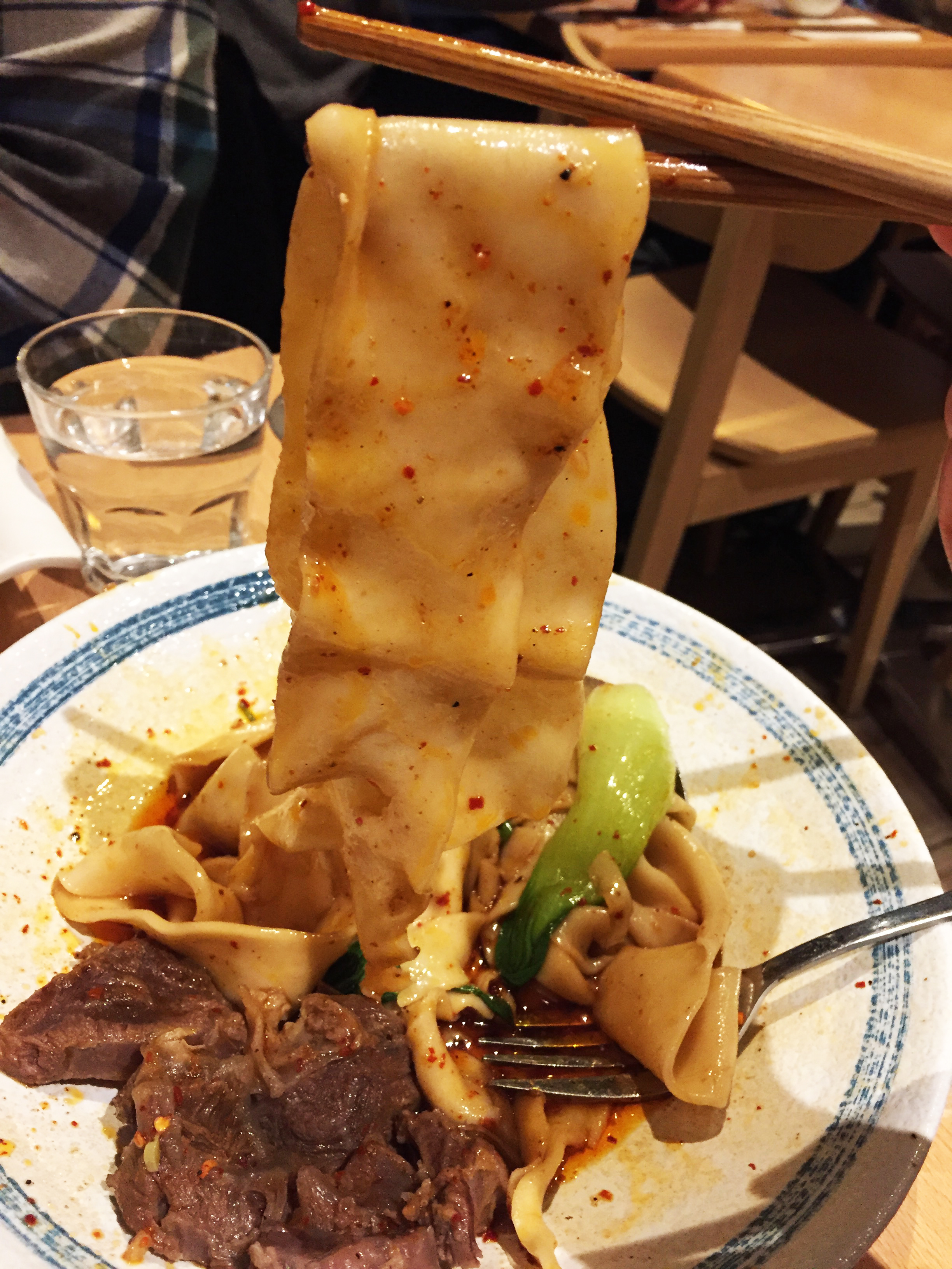 Biangbiang noodles from Xi'an Impression