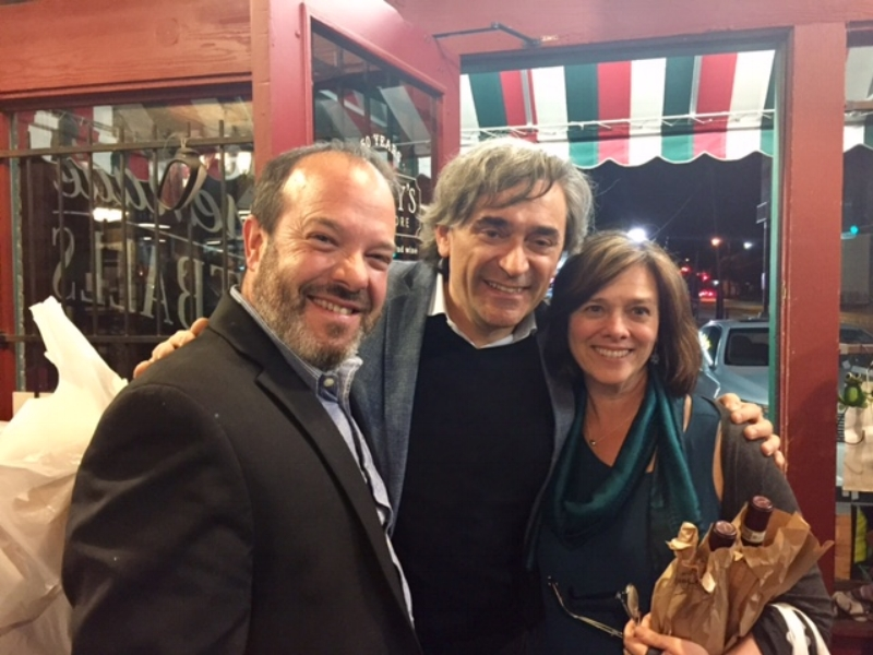 Euro Travel Coach with Luca Vietti at Jimmy's Food Store in  Dallas. Vietti is one of our favorite Barolo producers in Piedmont