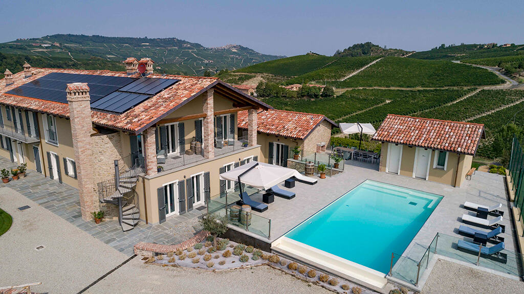 Beautiful setting in the hills of Piedmont.