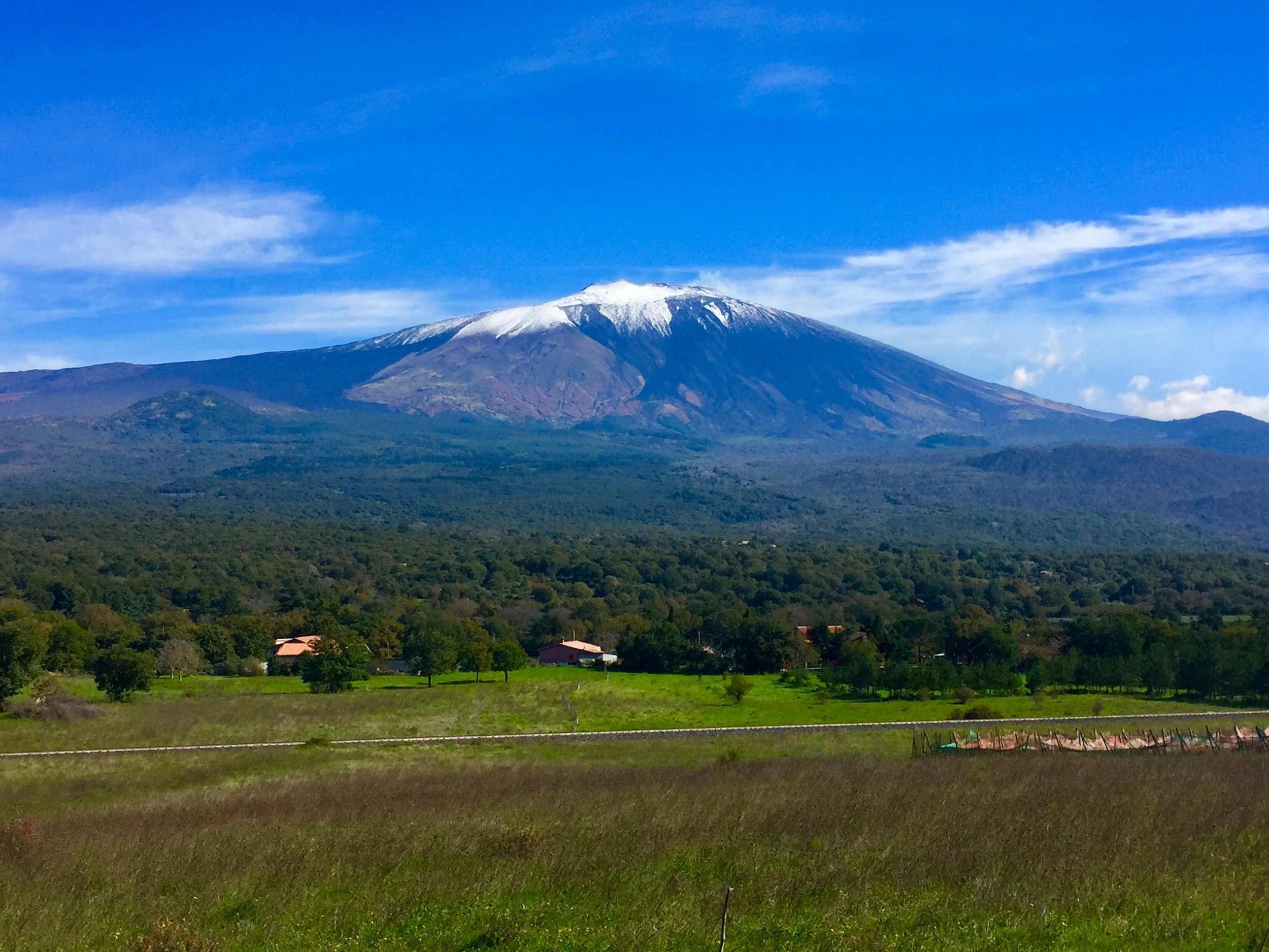 Mount Etna before the recent eruptions!