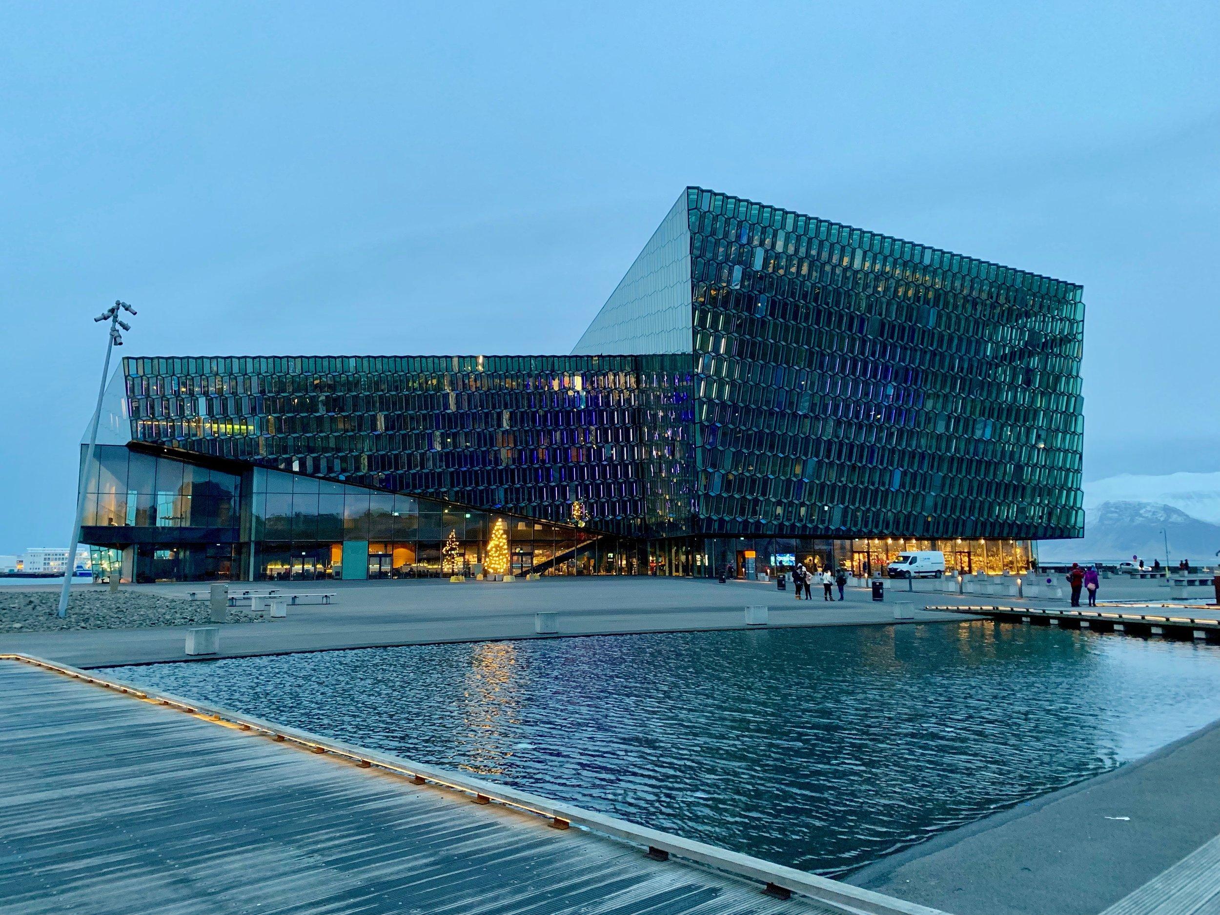 Reykjavik's Harpa Concert Hall
