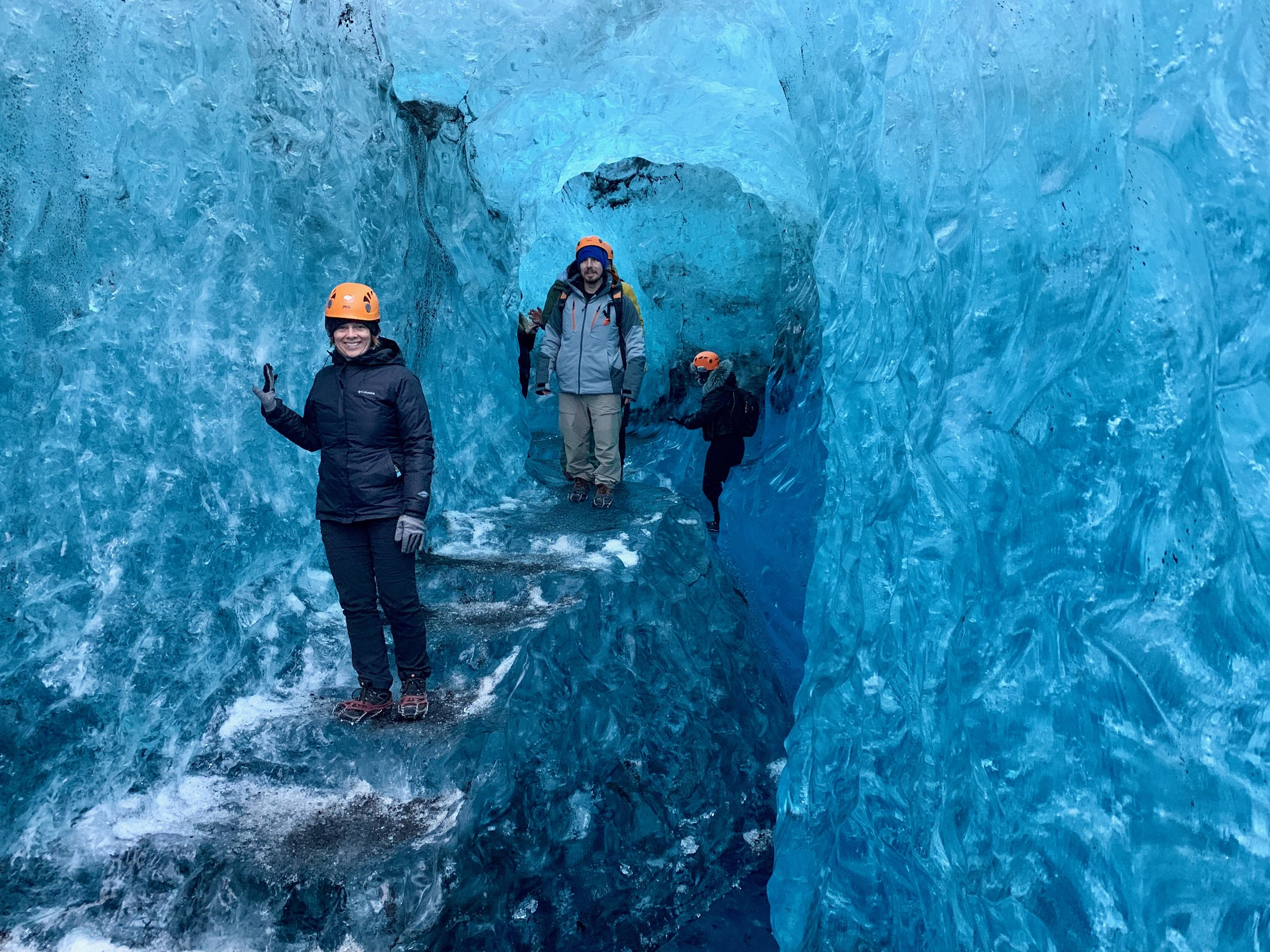 Ice caves with Local Guide of Vatnajökull