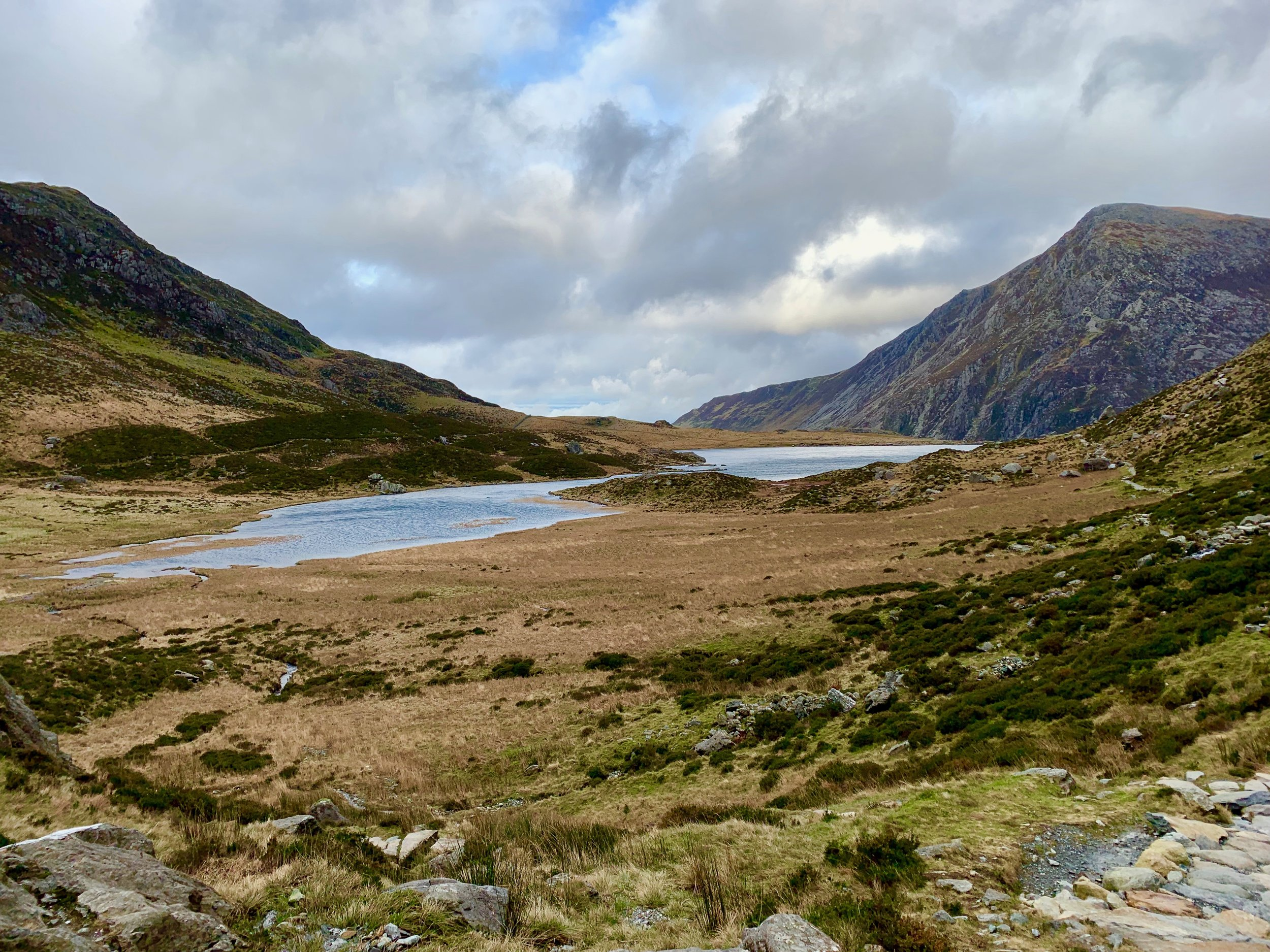 Llyn Idwal in Snowdonia National Park