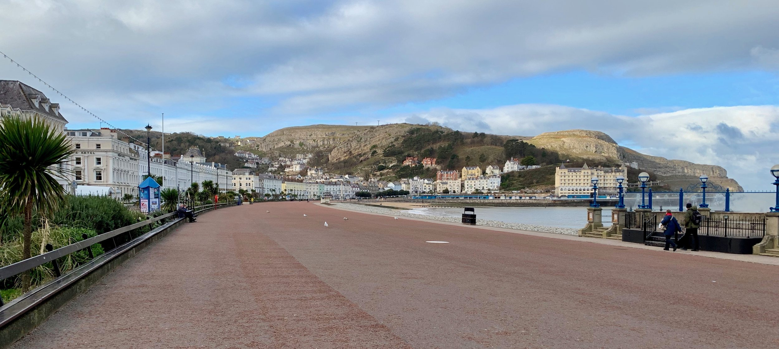 The beach at Llandudno, Wales