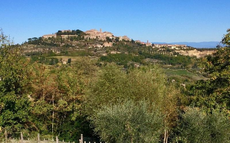 Montepulciano, city of Vino Nobile