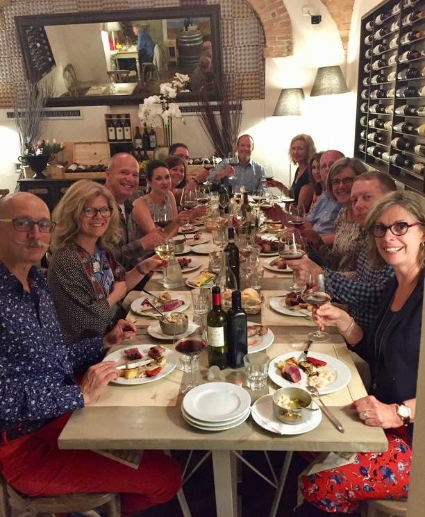 Our Small Group Tour of Tuscany at Ristorante Daria