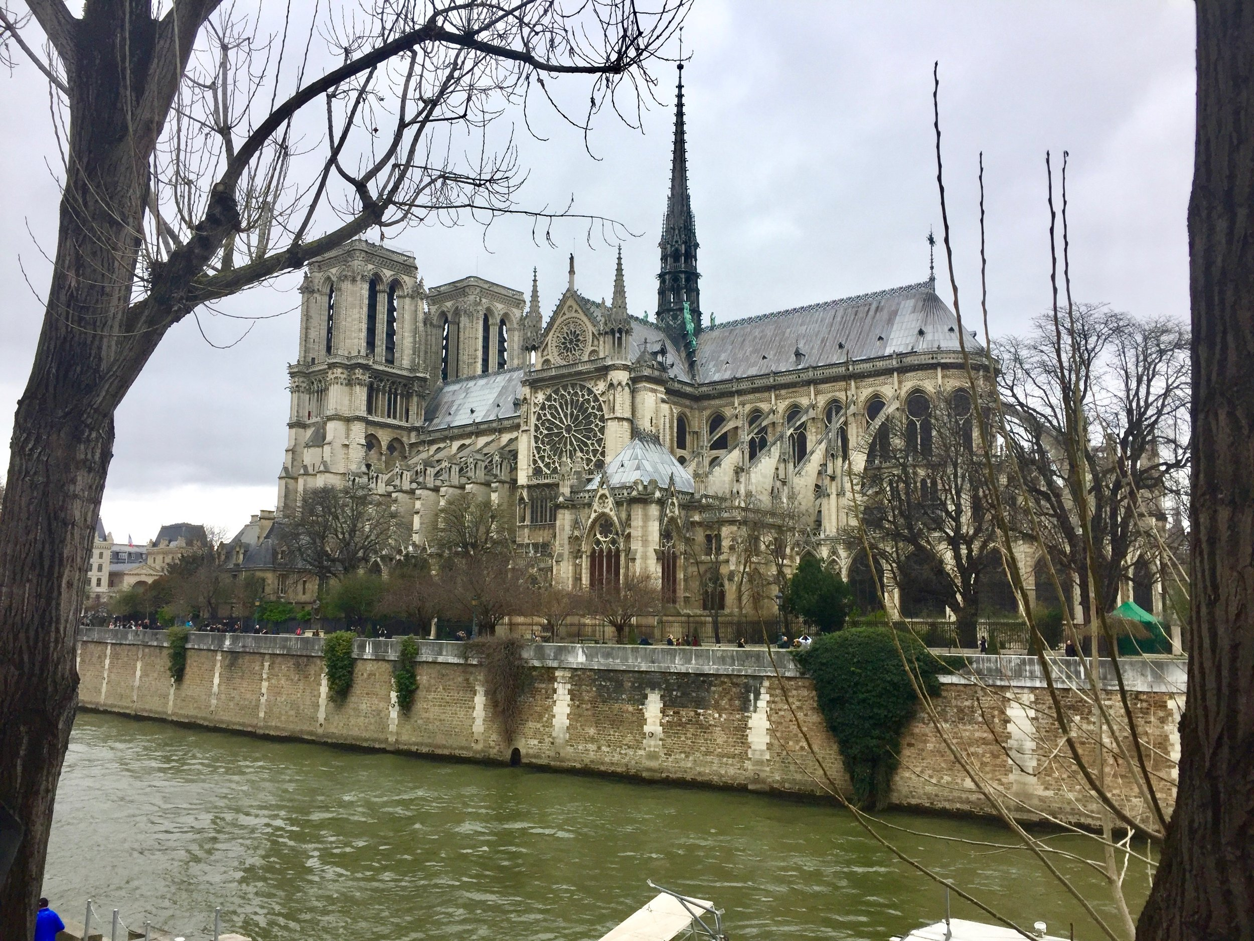 Our last visit to Notre Dame, March 2017