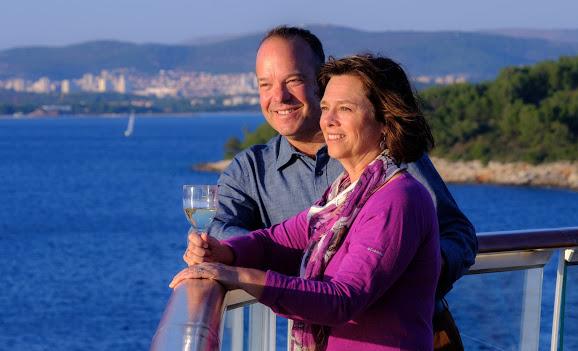 Viking Ocean Cruise sailing into Kotor, Montenegro