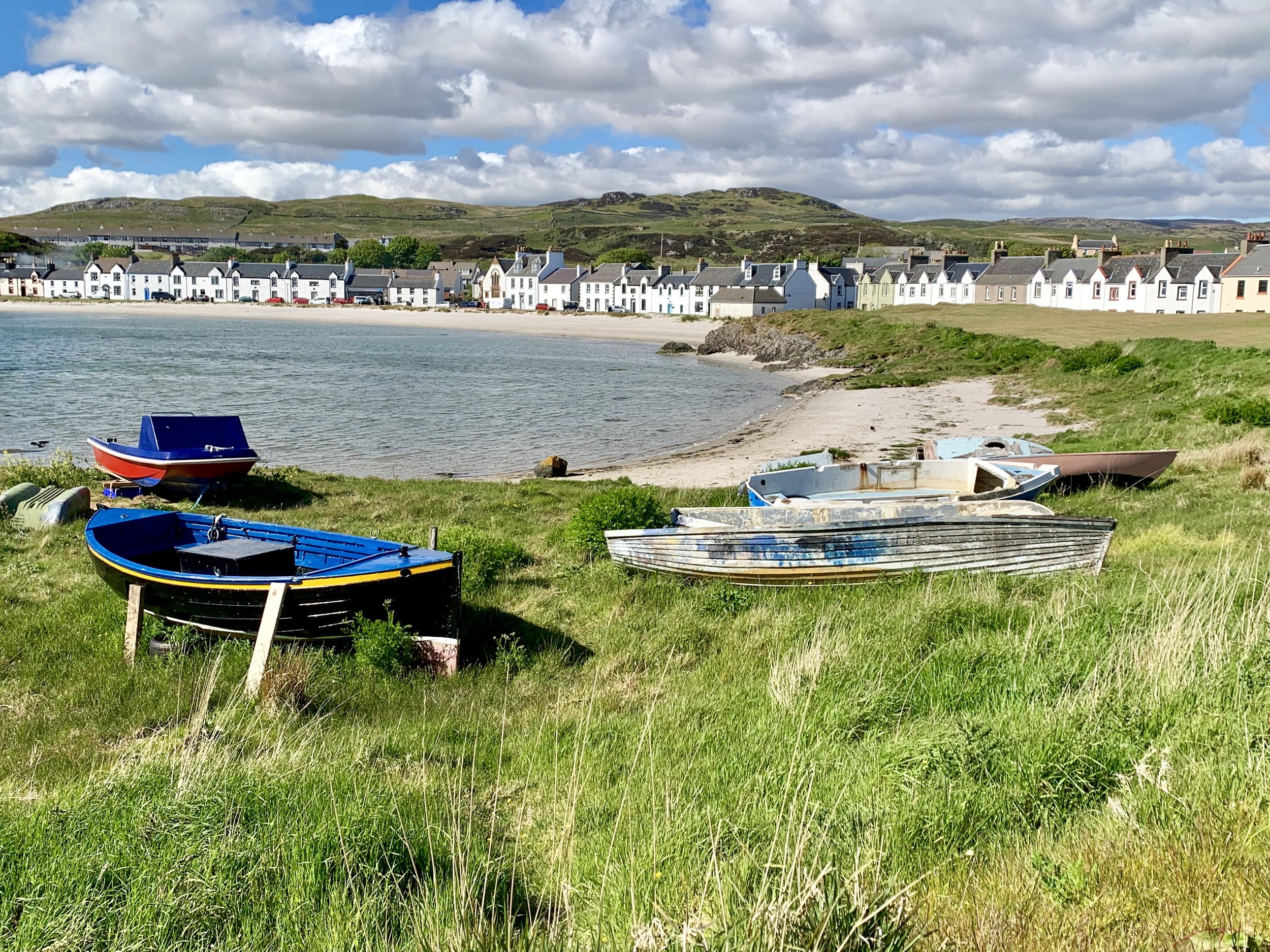 The Town of Port Ellen on Islay