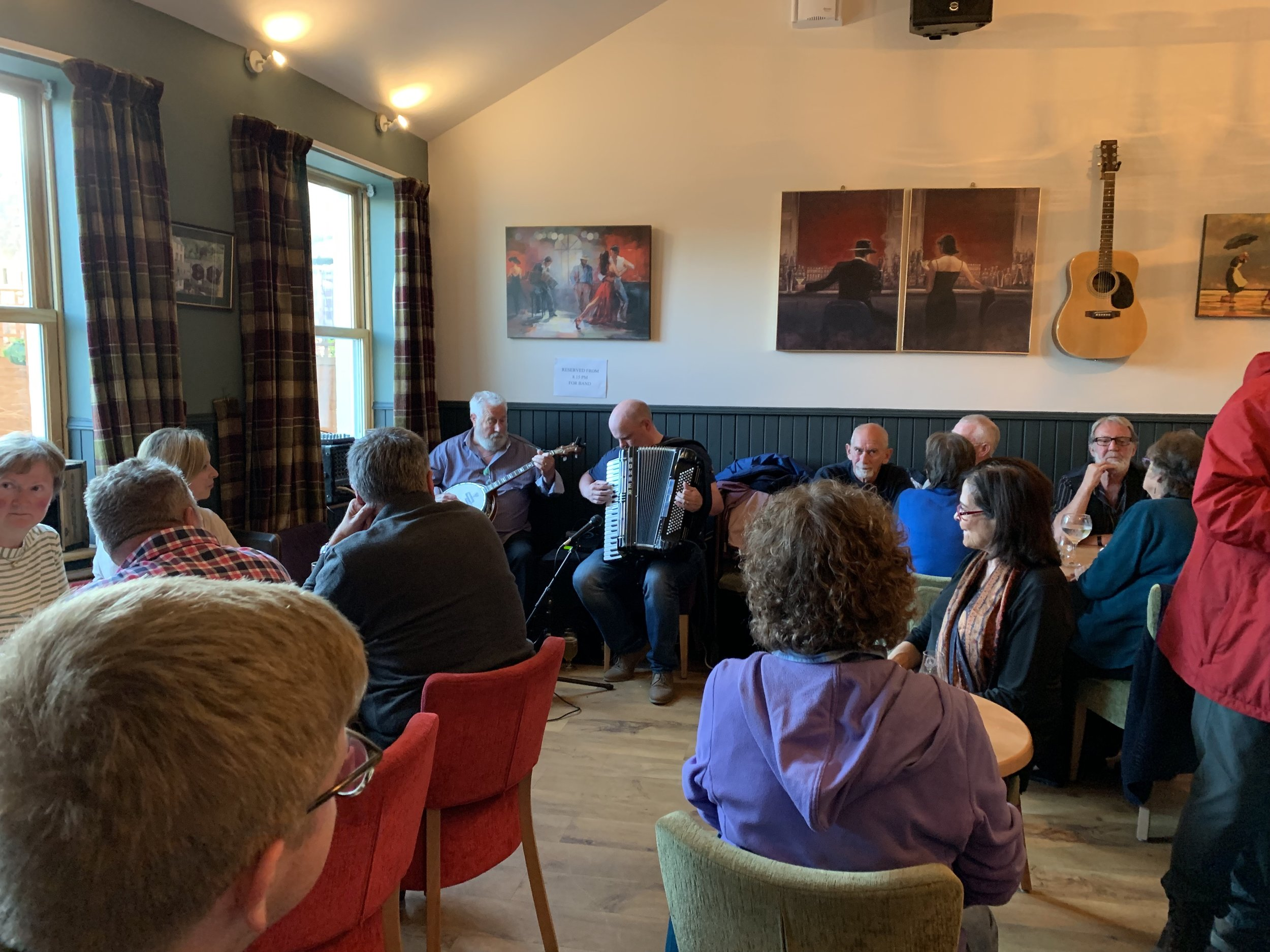 Live music at The Islay Hotel