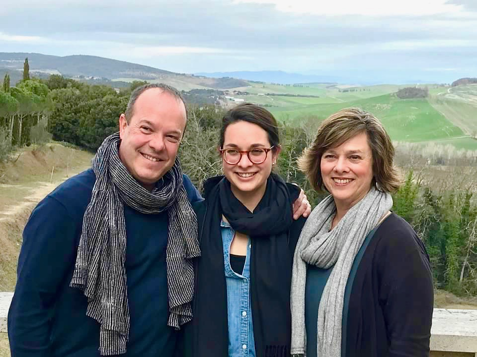 The   Euro Travel Coach     Team in Tuscany