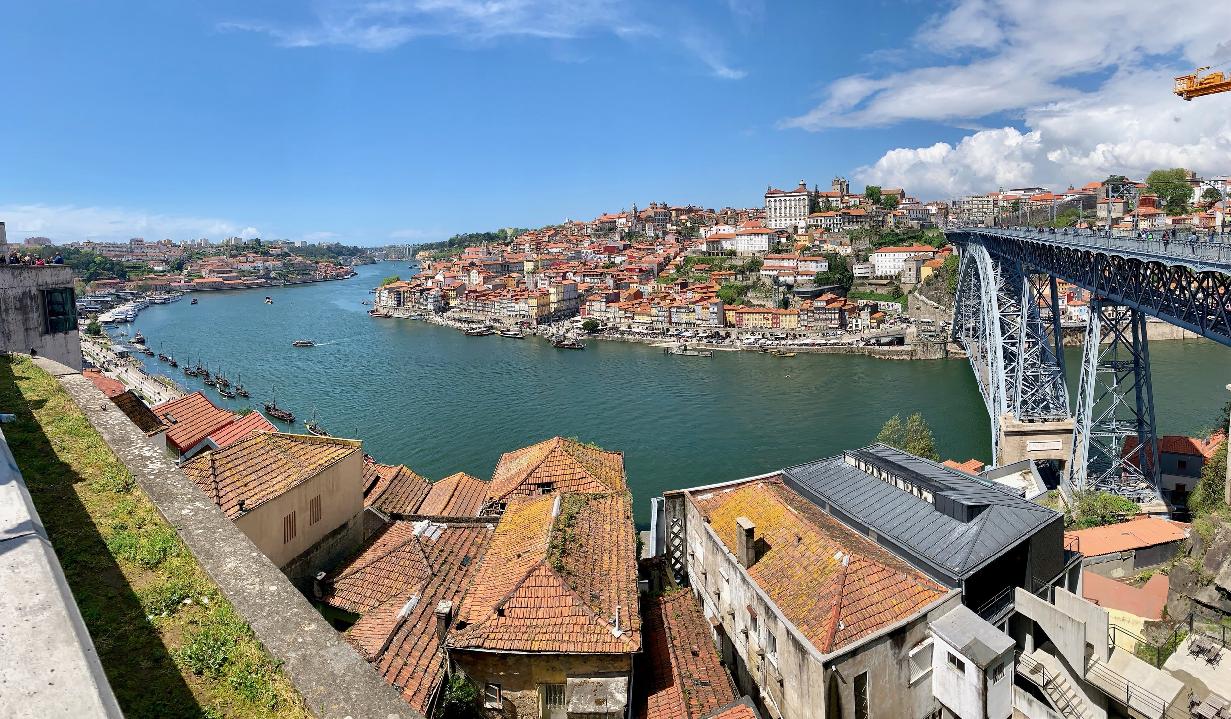 Porto, Portugal at the mouth of the Douro River