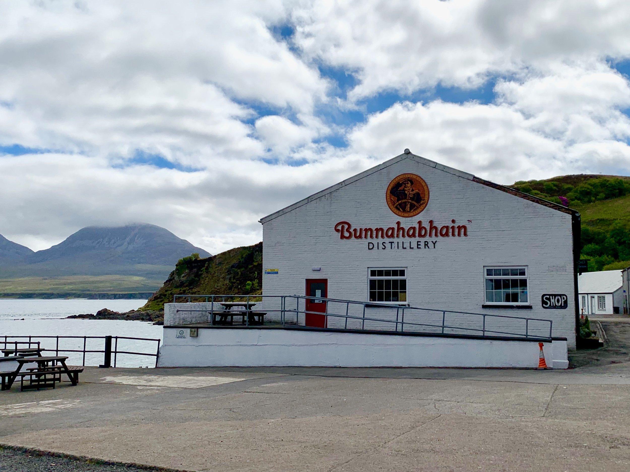 The Bunnahabhain Distillery on Islay, Scotland