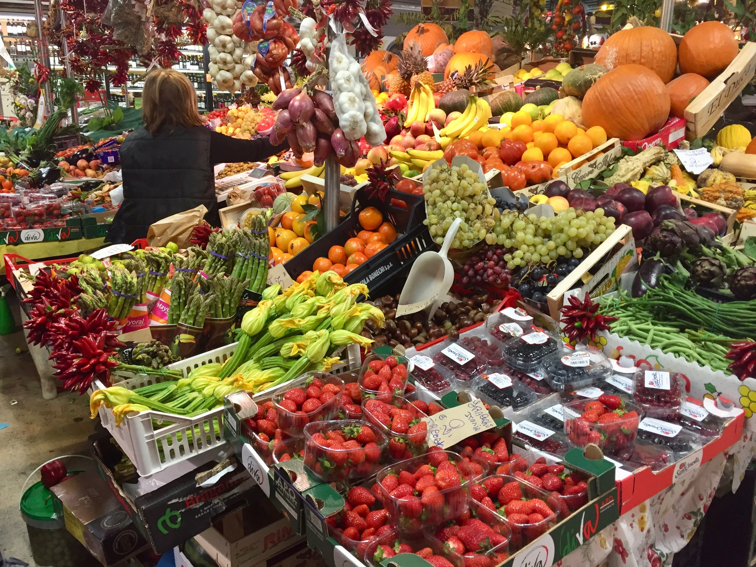 Mercato Centrale in Florence