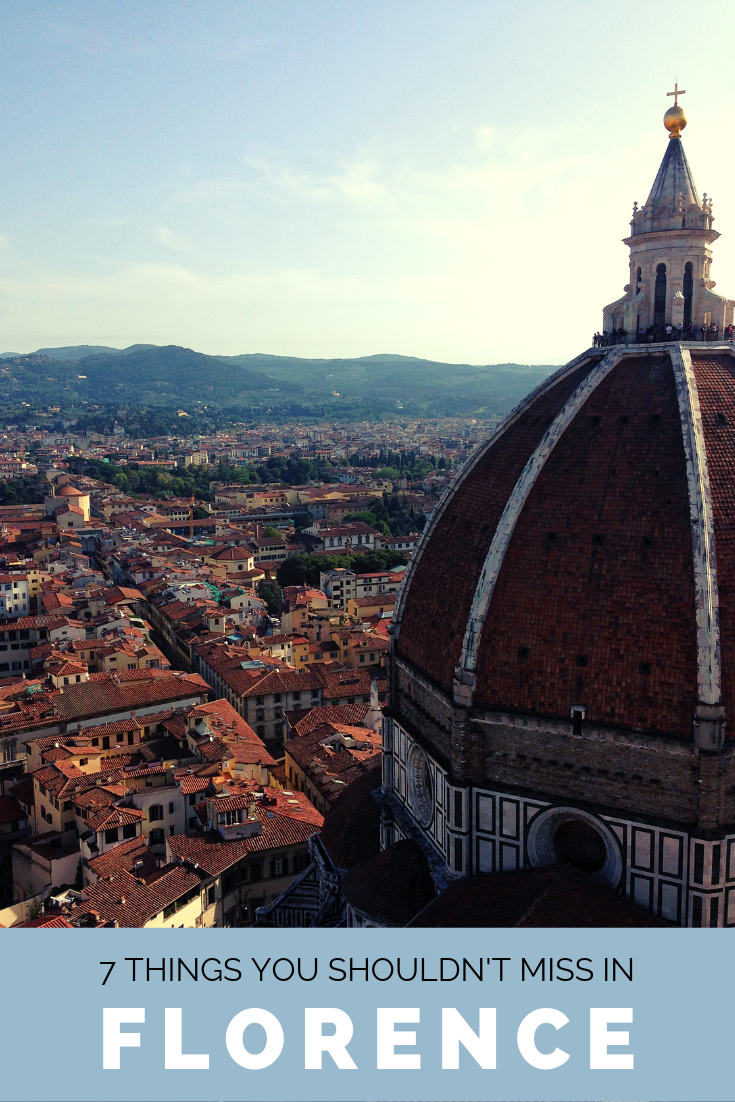 7 things you shouldn't miss in Florence