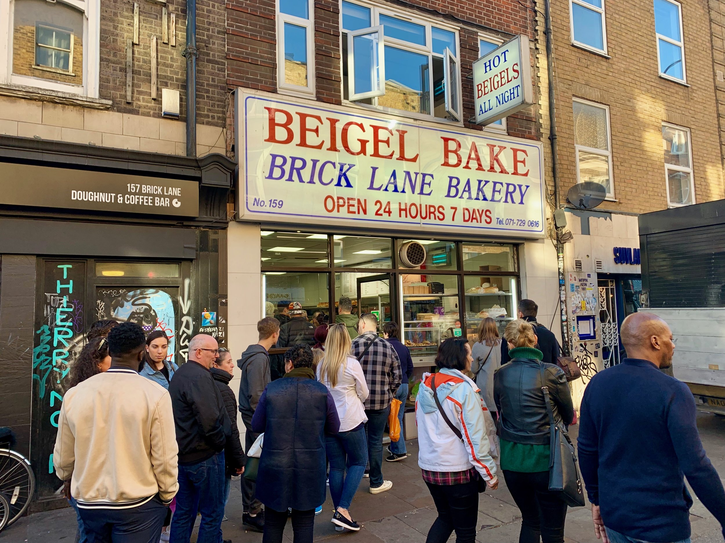 Beigel Bake is a must stop for a salted beef bagel!