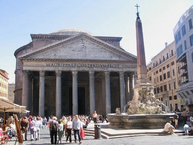 The Pantheon in Rome is a must see